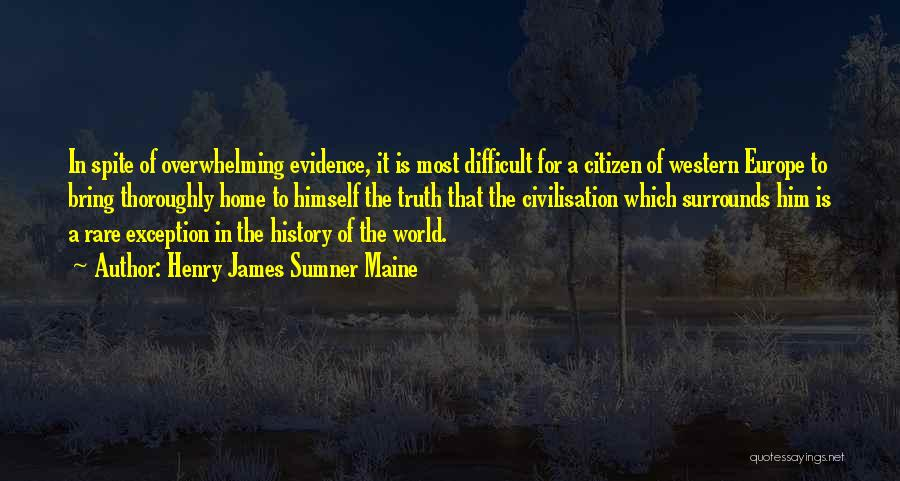 World Citizen Quotes By Henry James Sumner Maine