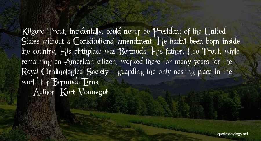 World Citizen Quotes By Kurt Vonnegut
