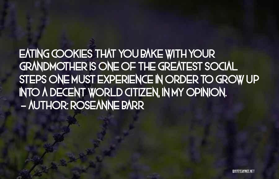 World Citizen Quotes By Roseanne Barr