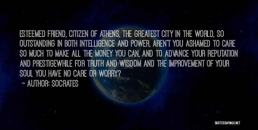 World Citizen Quotes By Socrates