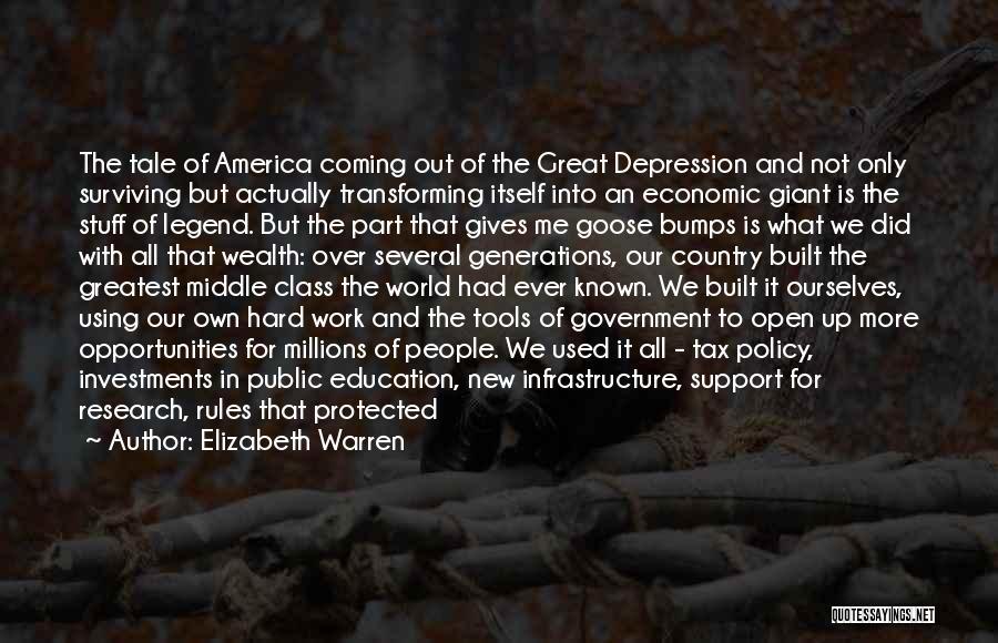 World Class Education Quotes By Elizabeth Warren