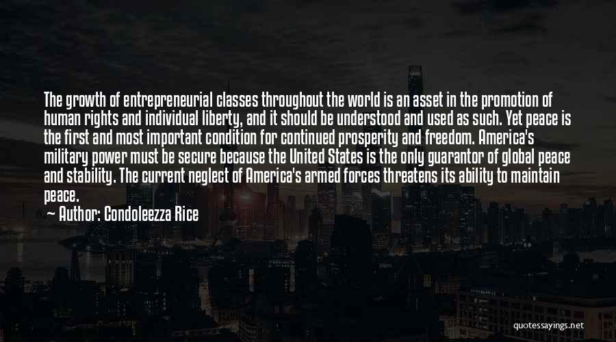 World Class Quotes By Condoleezza Rice