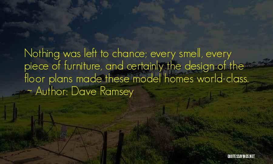 World Class Quotes By Dave Ramsey