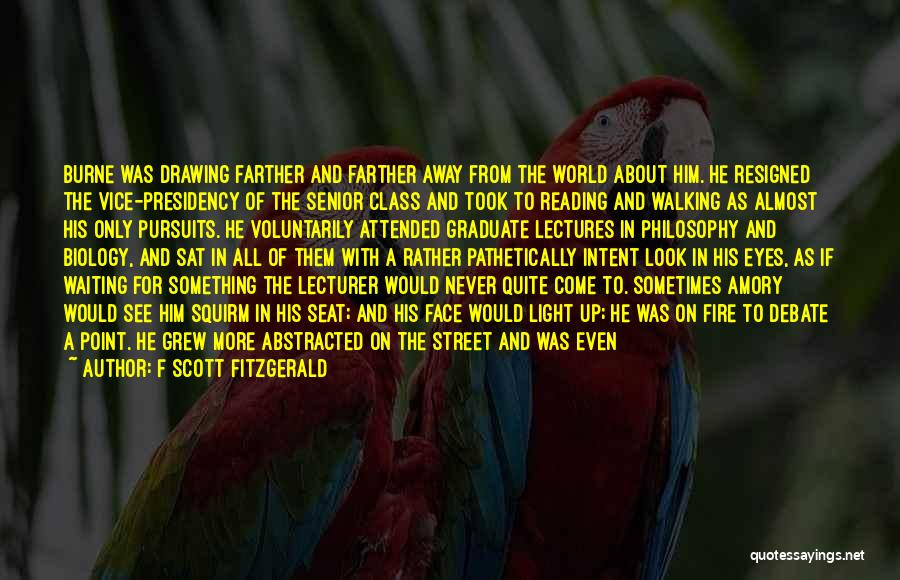 World Class Quotes By F Scott Fitzgerald