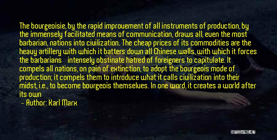 World Class Quotes By Karl Marx
