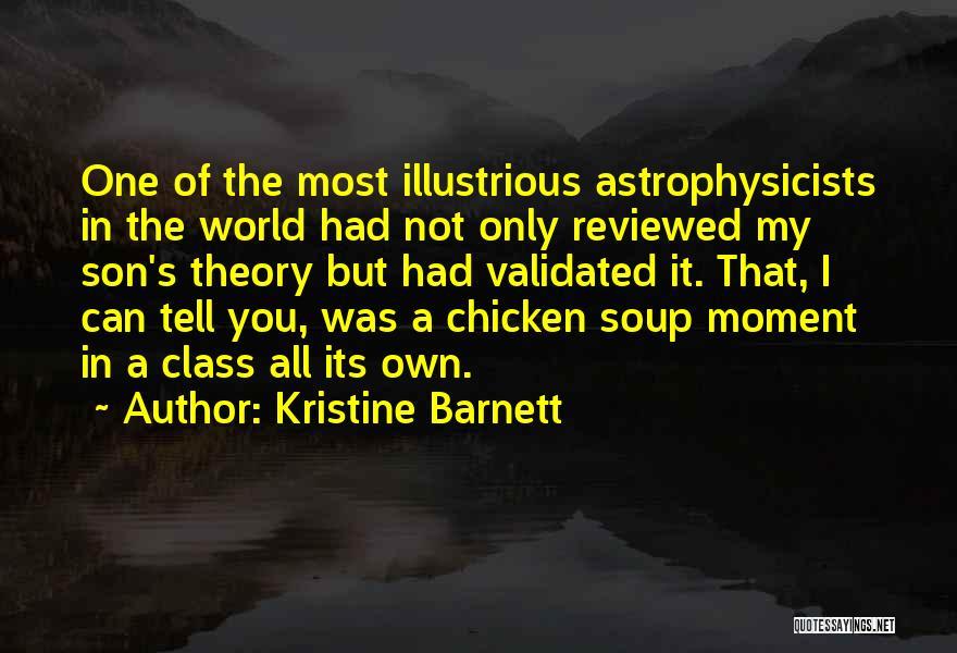World Class Quotes By Kristine Barnett