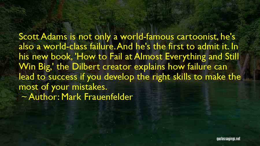 World Class Quotes By Mark Frauenfelder