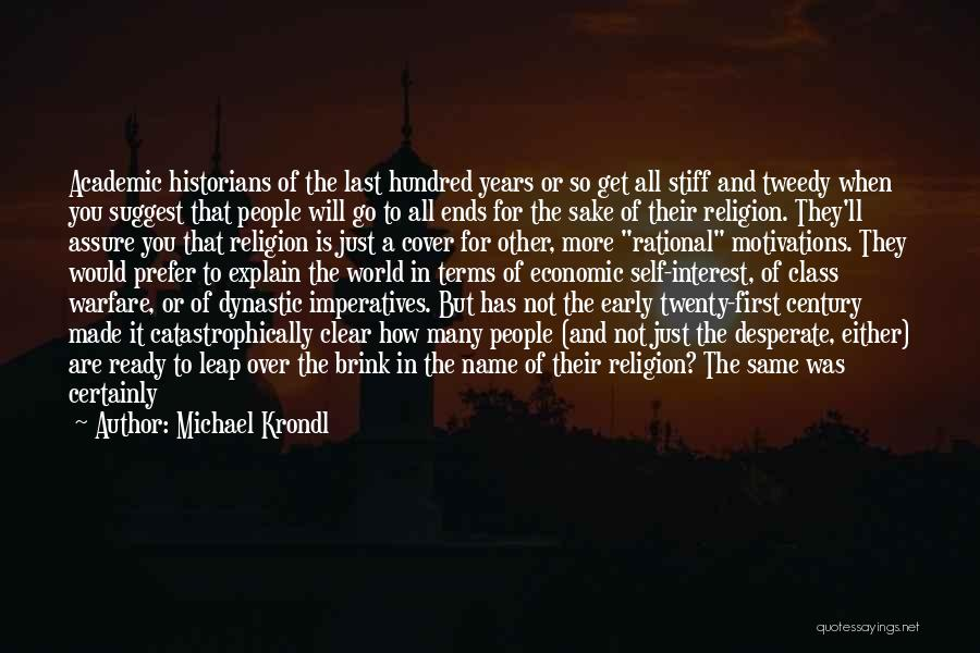 World Class Quotes By Michael Krondl