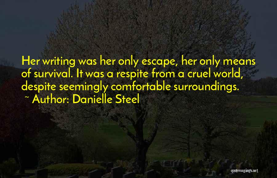 World Cruel Quotes By Danielle Steel