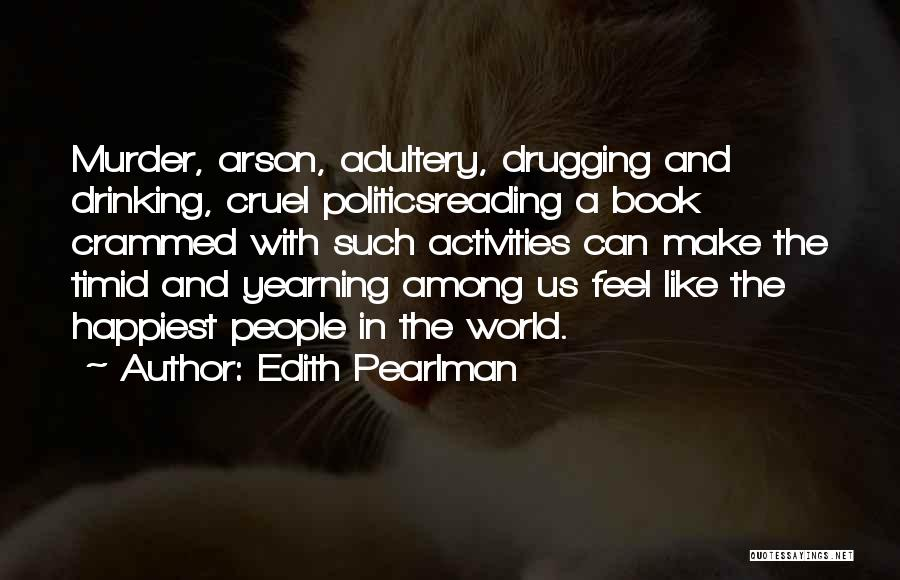 World Cruel Quotes By Edith Pearlman