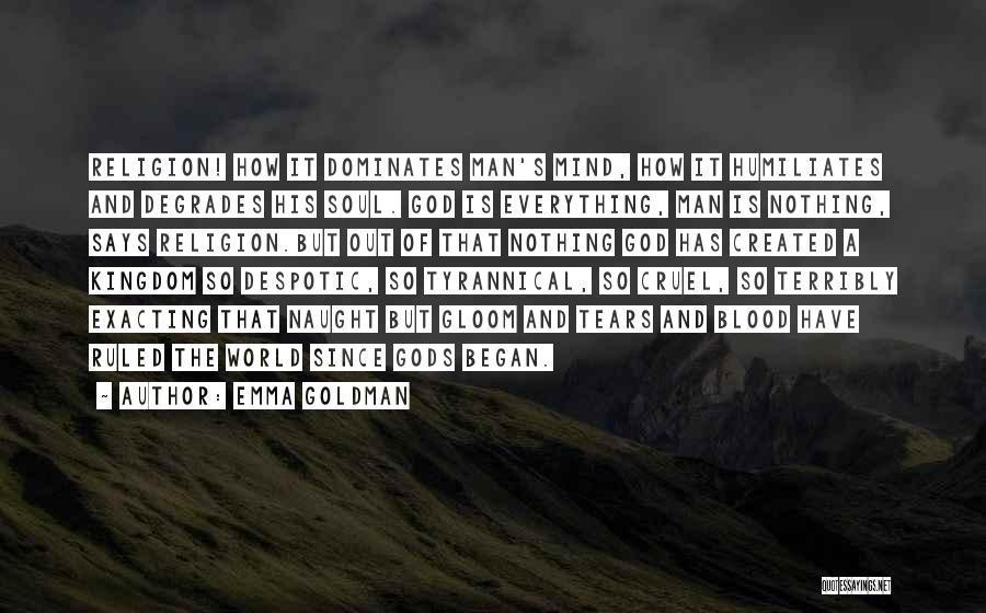 World Cruel Quotes By Emma Goldman
