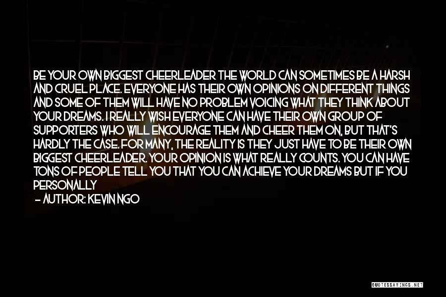 World Cruel Quotes By Kevin Ngo