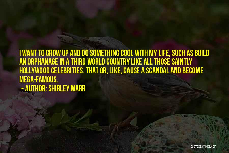 World Famous Life Quotes By Shirley Marr