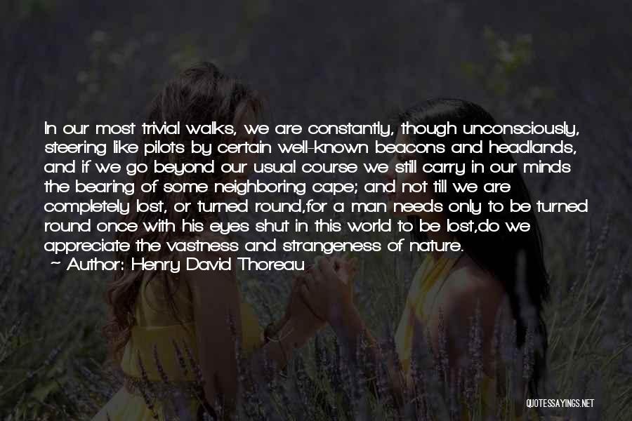 World Go Round Quotes By Henry David Thoreau