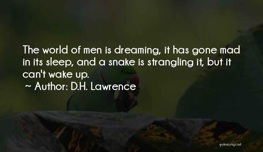 World Gone Mad Quotes By D.H. Lawrence