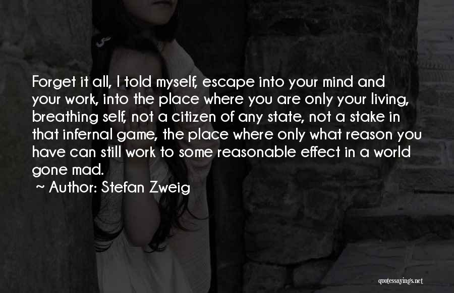 World Gone Mad Quotes By Stefan Zweig