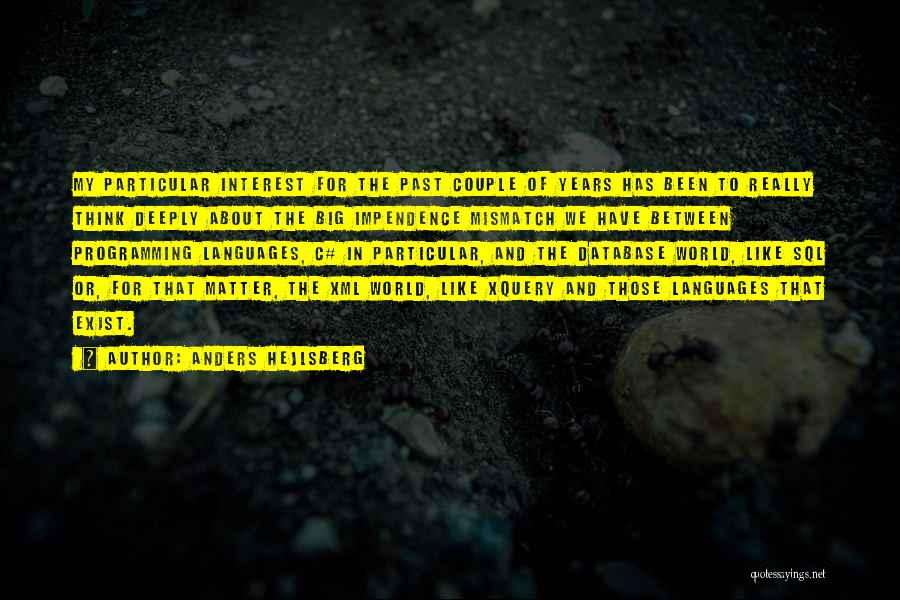 World Languages Quotes By Anders Hejlsberg