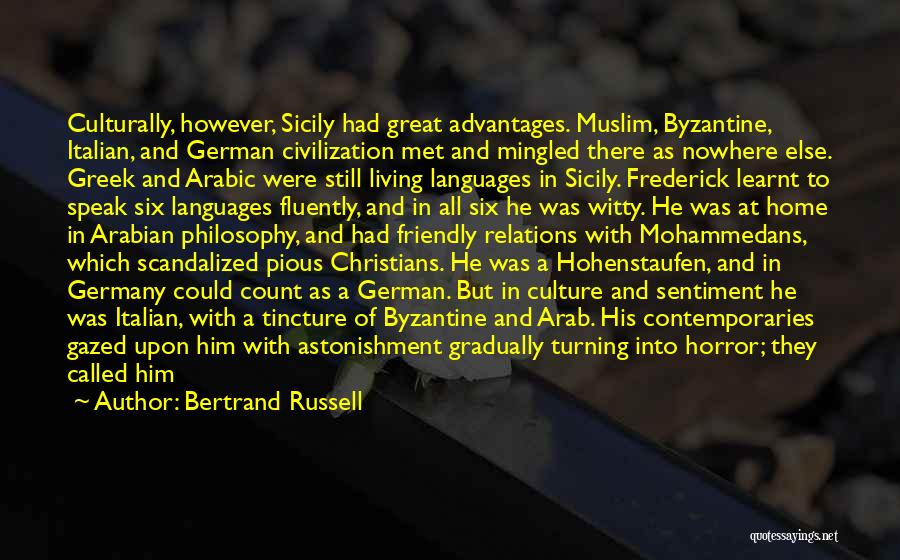 World Languages Quotes By Bertrand Russell