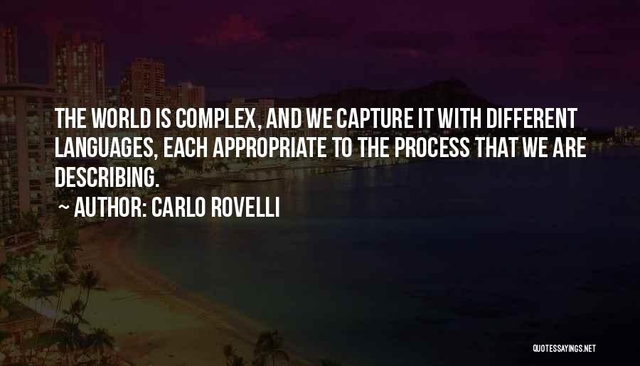 World Languages Quotes By Carlo Rovelli