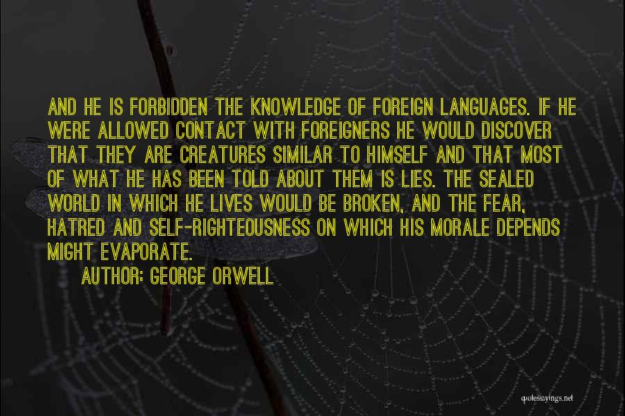 World Languages Quotes By George Orwell
