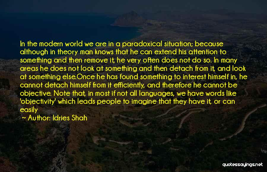 World Languages Quotes By Idries Shah