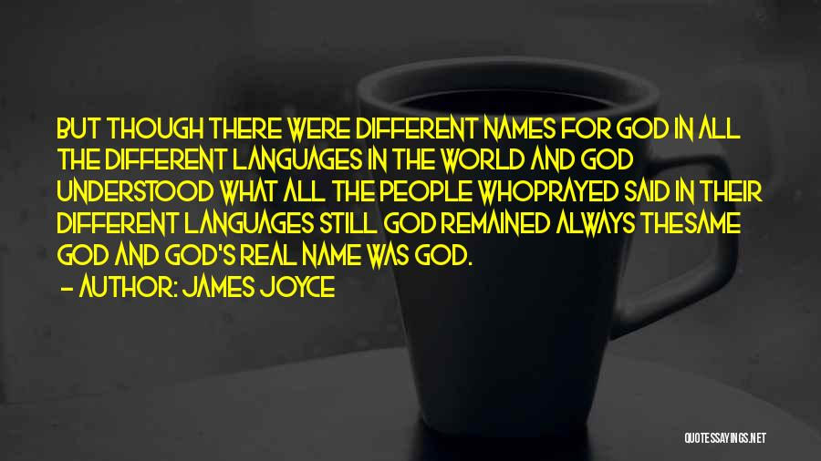 World Languages Quotes By James Joyce