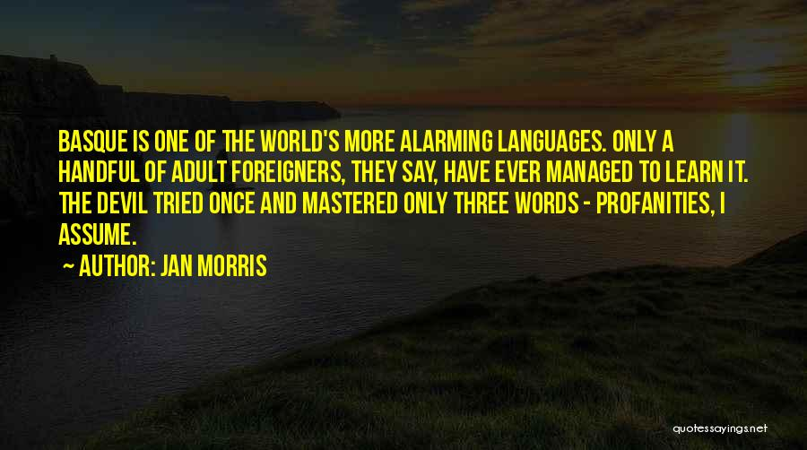 World Languages Quotes By Jan Morris
