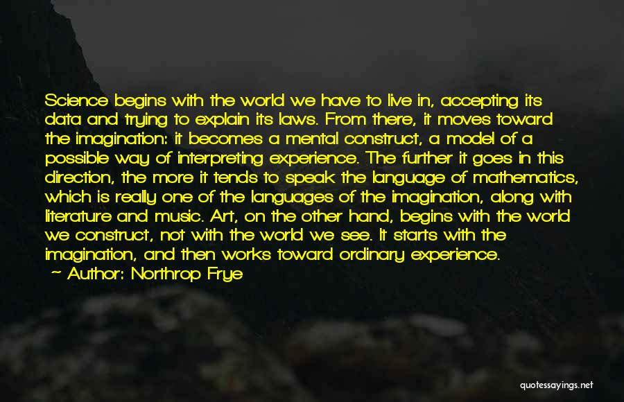 World Languages Quotes By Northrop Frye