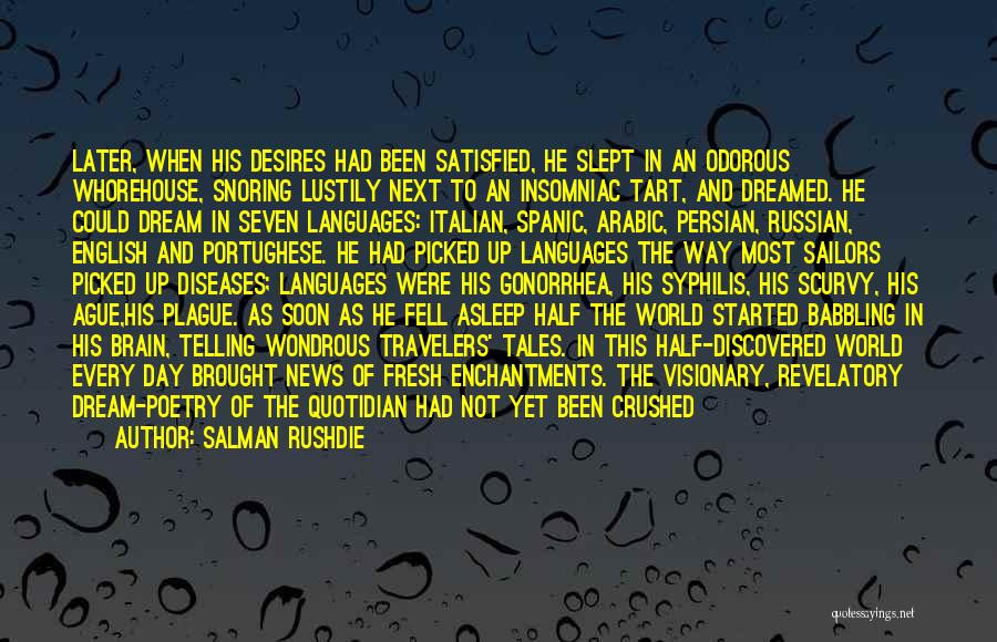 World Languages Quotes By Salman Rushdie