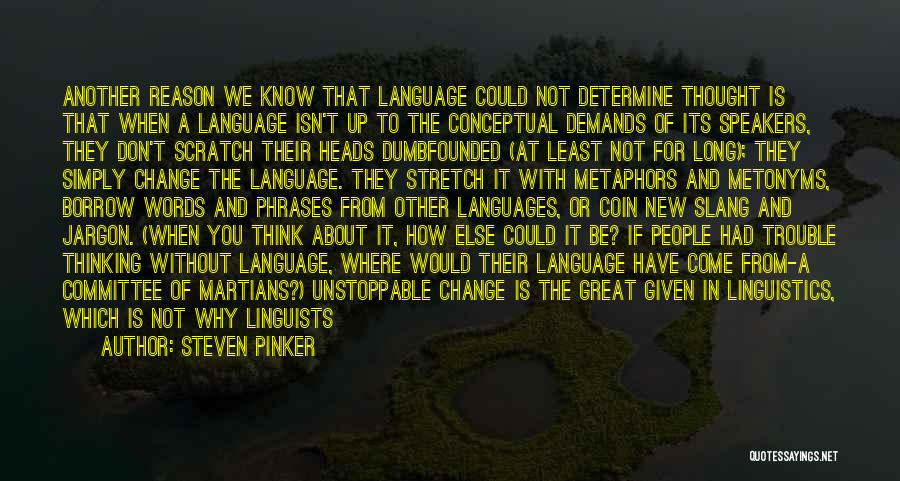 World Languages Quotes By Steven Pinker