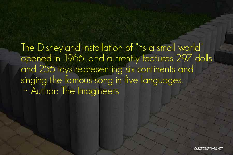 World Languages Quotes By The Imagineers