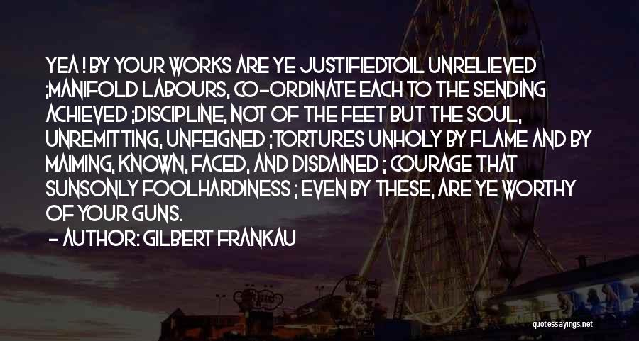 World War Z Best Quotes By Gilbert Frankau