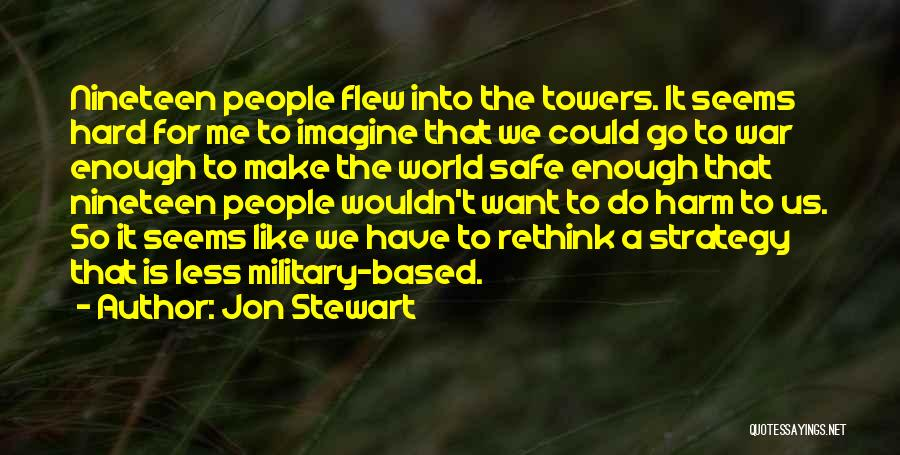 World War Z Best Quotes By Jon Stewart