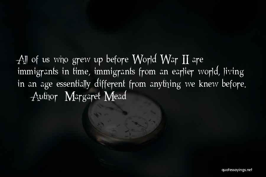 World War Z Best Quotes By Margaret Mead