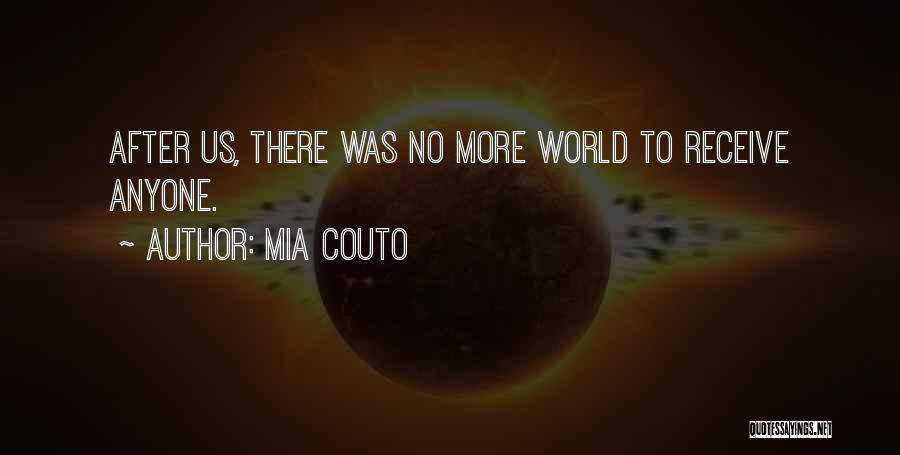World War Z Best Quotes By Mia Couto