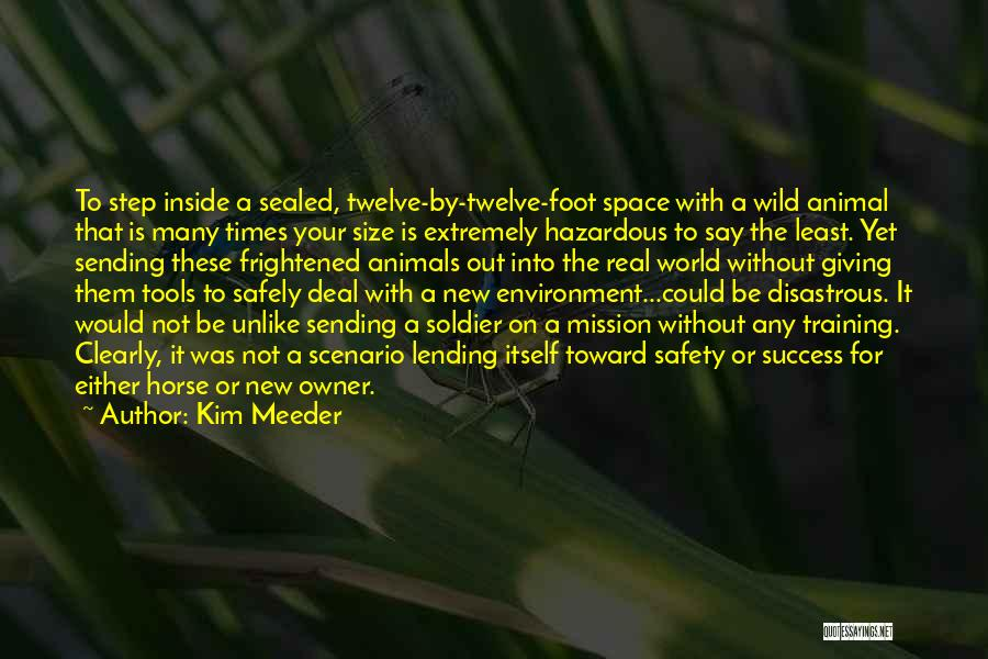 World's Best Horse Quotes By Kim Meeder
