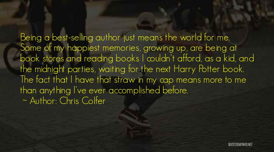 World's Best Waiting Quotes By Chris Colfer