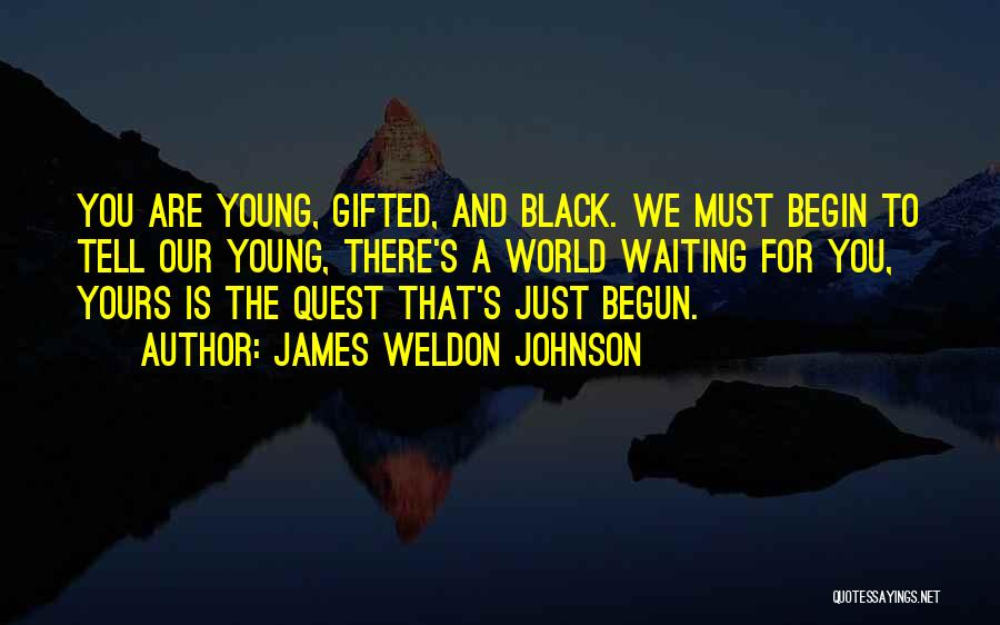 World's Best Waiting Quotes By James Weldon Johnson