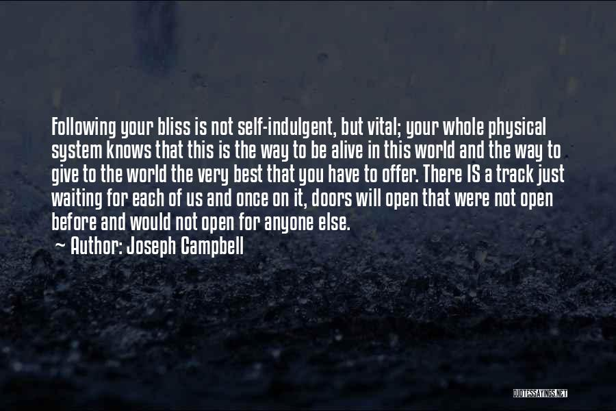 World's Best Waiting Quotes By Joseph Campbell