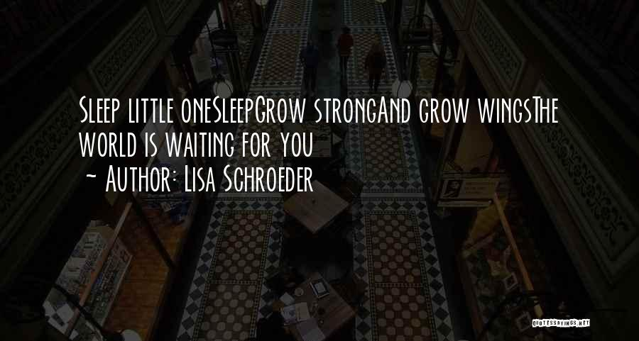 World's Best Waiting Quotes By Lisa Schroeder