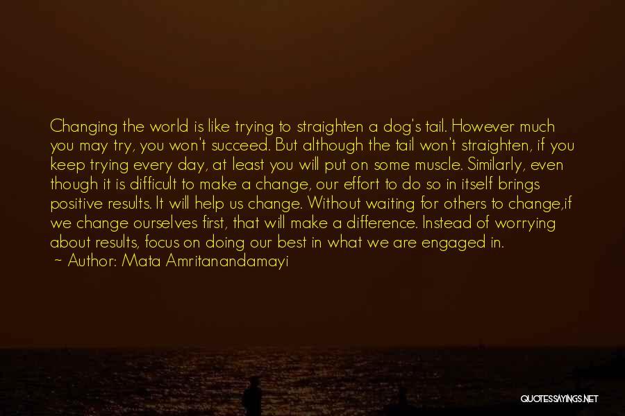 World's Best Waiting Quotes By Mata Amritanandamayi