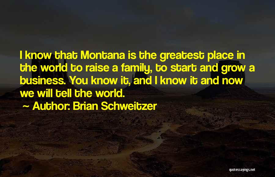 World's Greatest Business Quotes By Brian Schweitzer