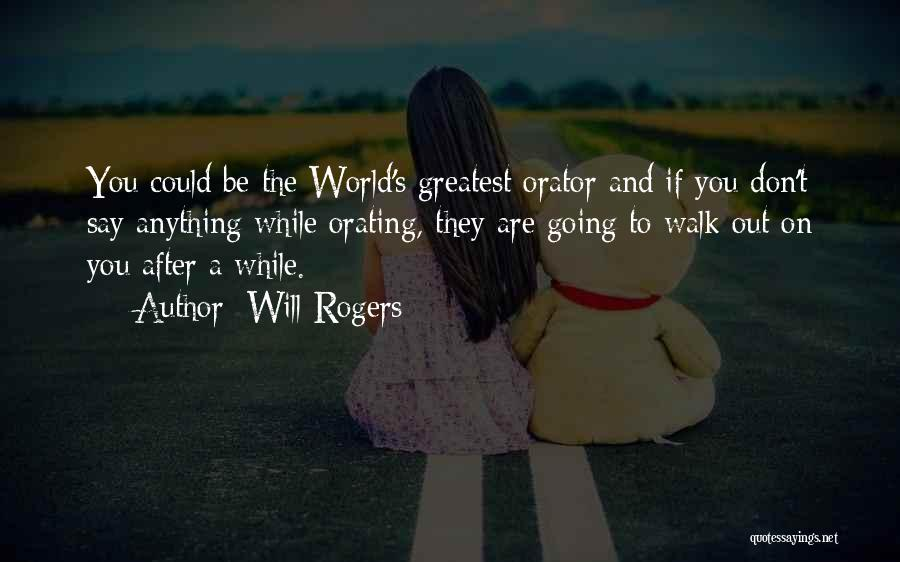 World's Greatest Business Quotes By Will Rogers