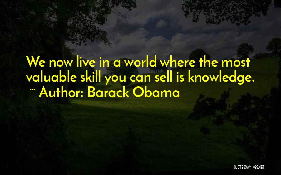 World's Most Valuable Quotes By Barack Obama