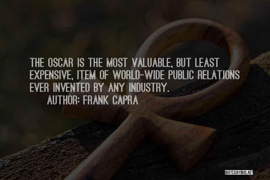 World's Most Valuable Quotes By Frank Capra
