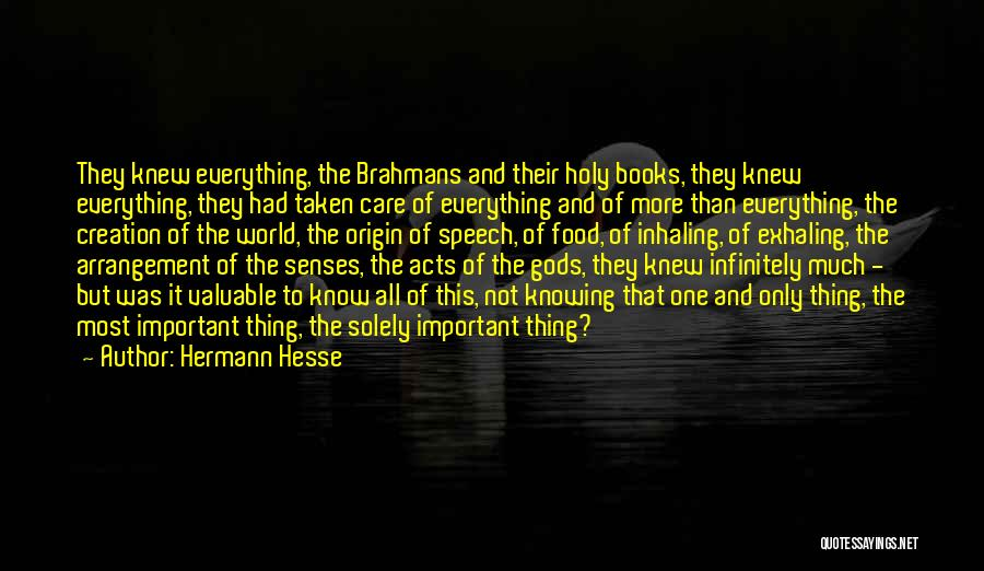 World's Most Valuable Quotes By Hermann Hesse