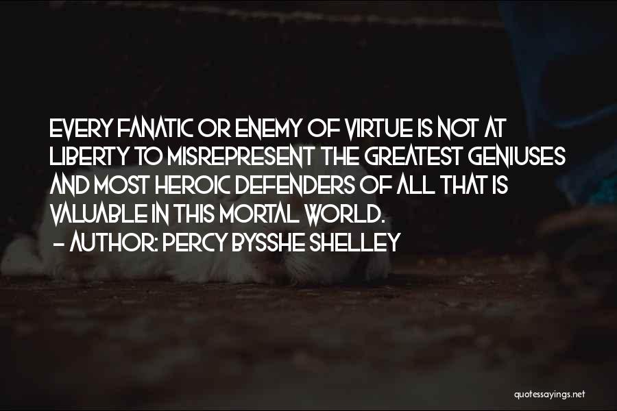 World's Most Valuable Quotes By Percy Bysshe Shelley
