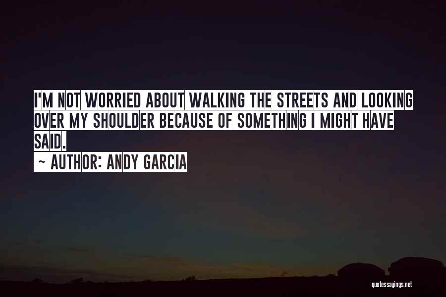 Worried Quotes By Andy Garcia
