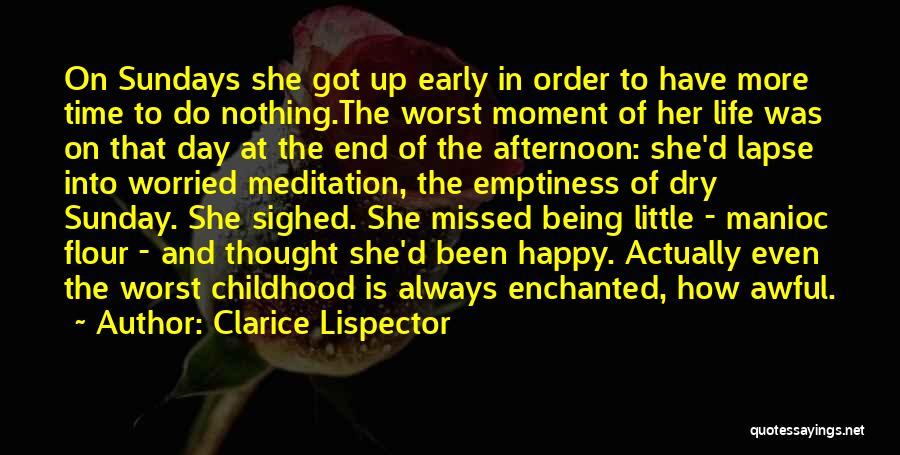 Worried Quotes By Clarice Lispector