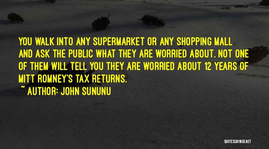 Worried Quotes By John Sununu